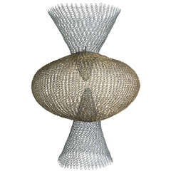 Ruth Asawa - S.562 - Double Cone with Center Sphere.