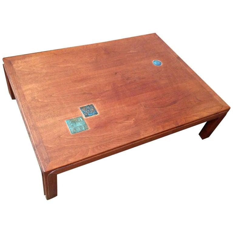 Dunbar Natzler Coffee Table For Sale