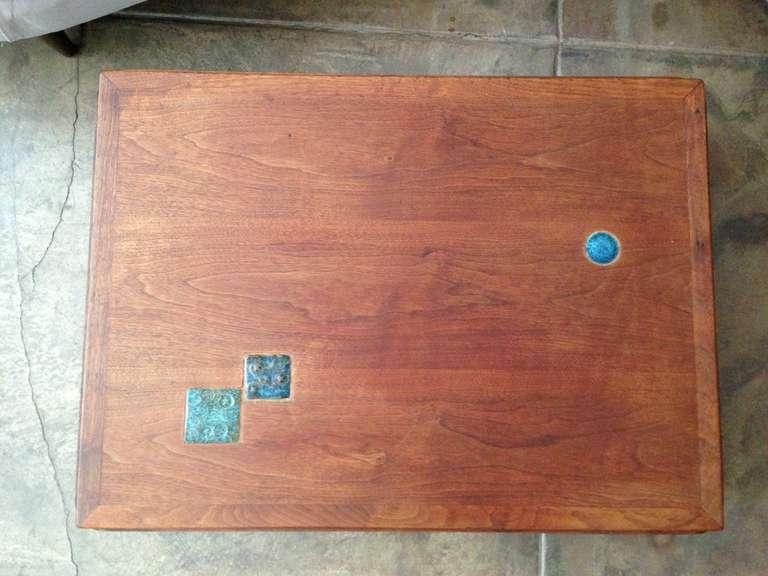 Mid-Century Modern Dunbar Natzler Coffee Table For Sale