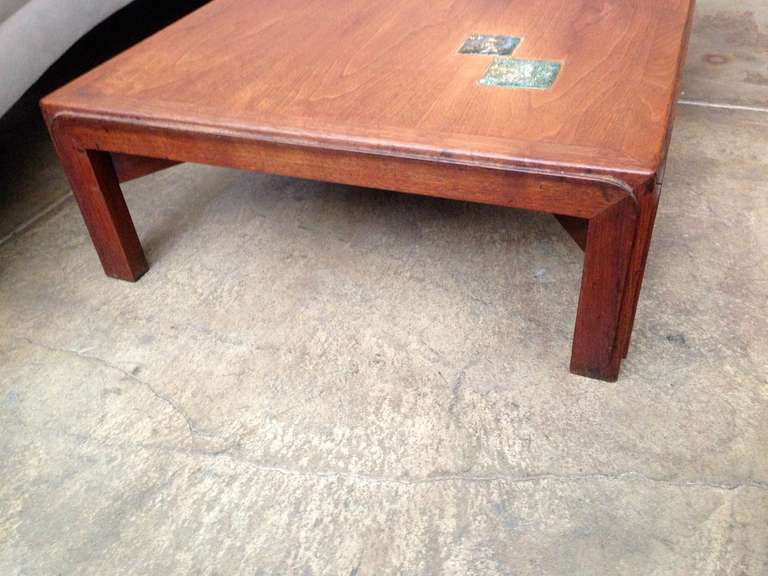 Ceramic Dunbar Natzler Coffee Table For Sale
