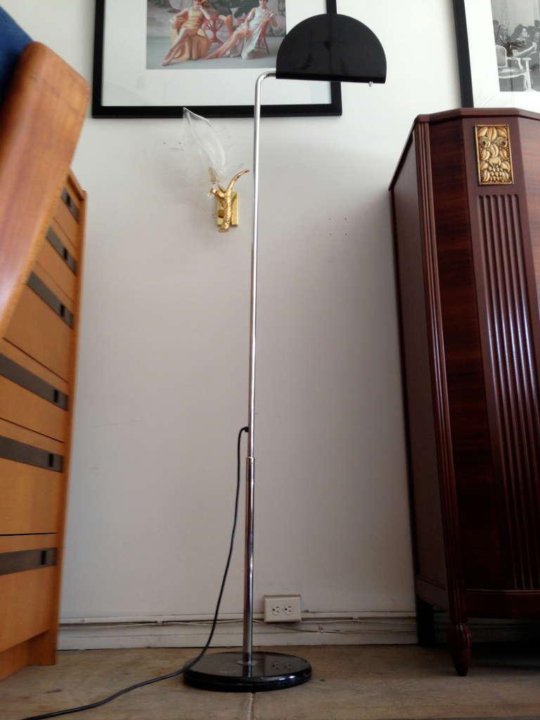 Late 20th Century Mezzaluna Floor Lamp For Sale