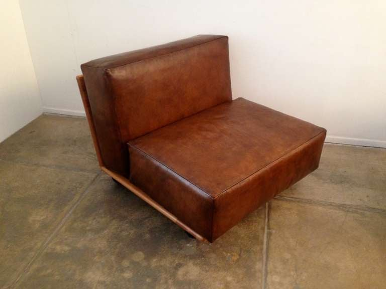 Pair of Mario Bellini Pianura Lounge Chairs 3