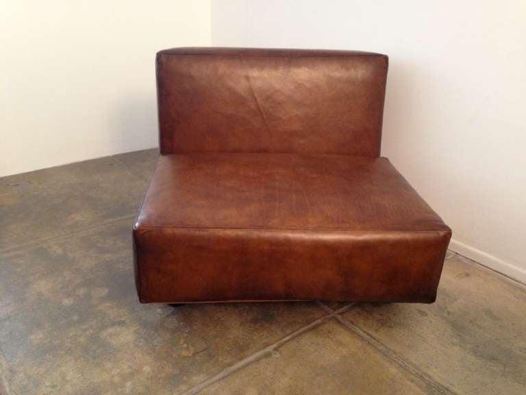 Pair of Mario Bellini Pianura Lounge Chairs 4