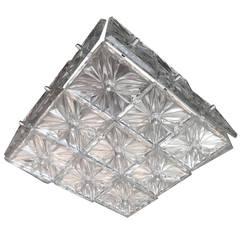 Kinkeldey Crystal Flush Light