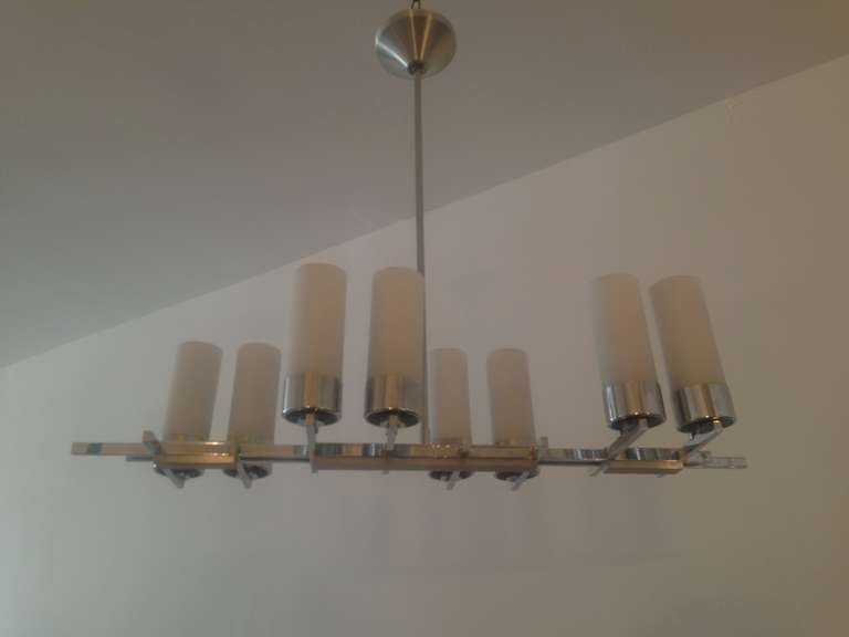 Mid-20th Century French 1960s Chandelier For Sale