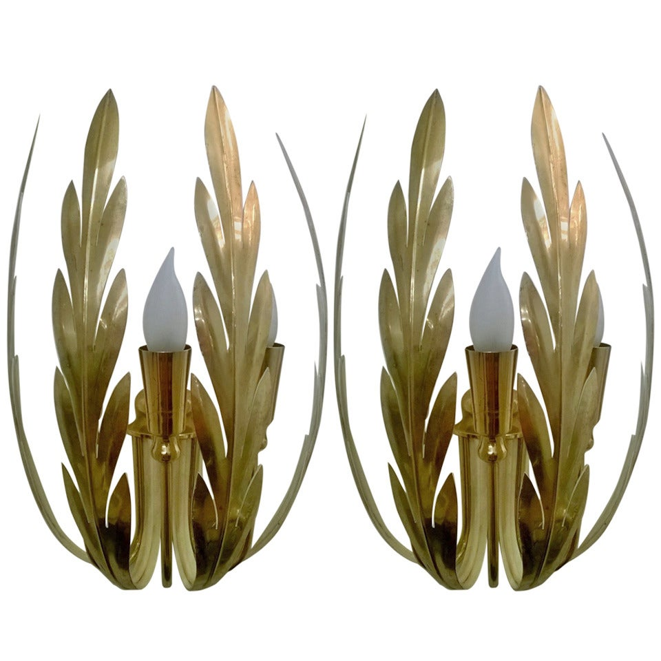 Pair of Austrian 1960s Sconces 1