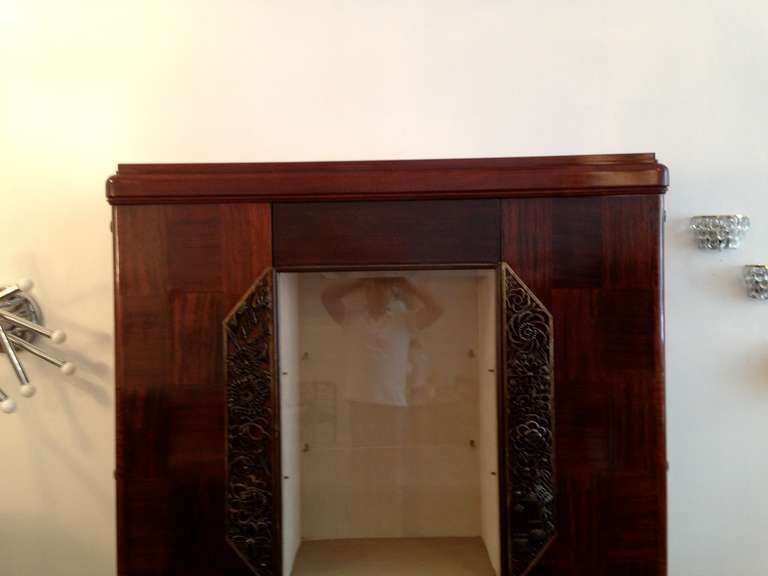 20th Century Louis Majorelle French Art Deco Cabinet 1930s For Sale