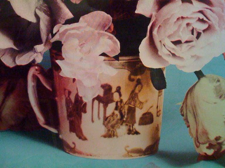 Francesco Scavullo, Flower Arrangement, Serigraph In Excellent Condition In New York, NY