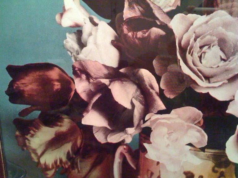 20th Century Francesco Scavullo, Flower Arrangement, Serigraph