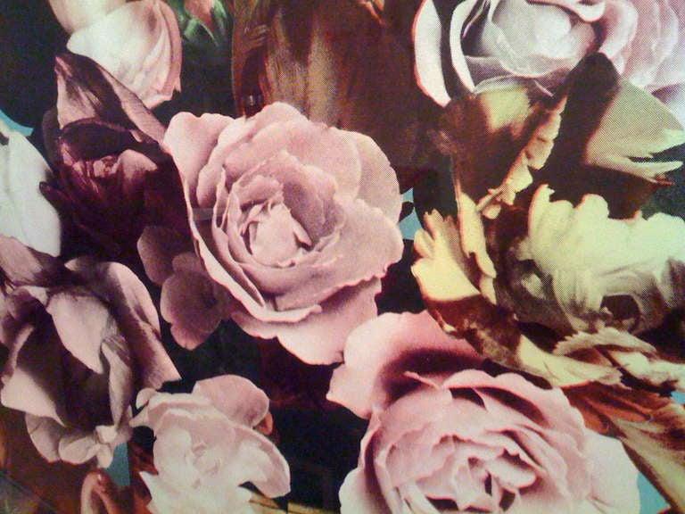 Francesco Scavullo, Flower Arrangement, Serigraph 1