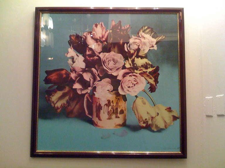 Francesco Scavullo, Flower Arrangement, Serigraph 3