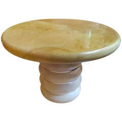 Ron Seff Goatskin Table
