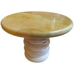 Ron Seff Goatskin Table