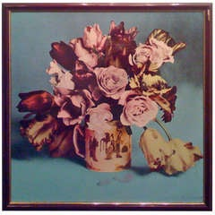Francesco Scavullo, Flower Arrangement, Serigraph