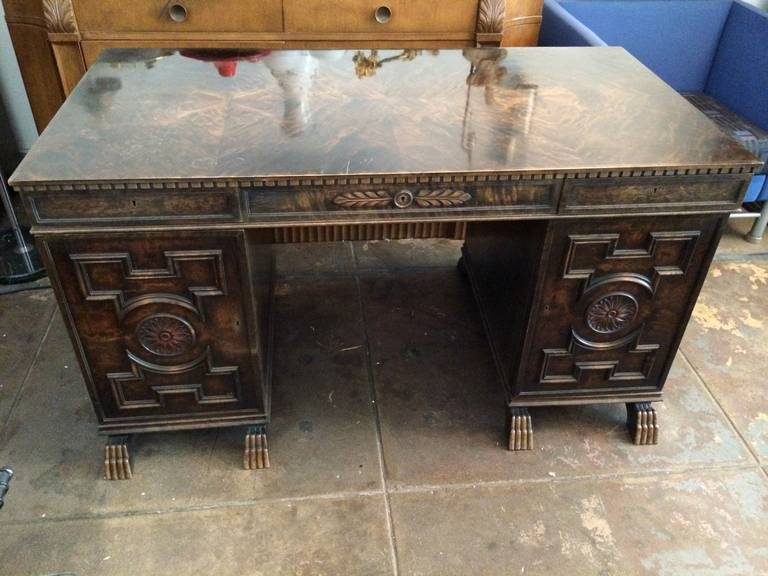 Art Deco Axel Hjorth Desk For Sale