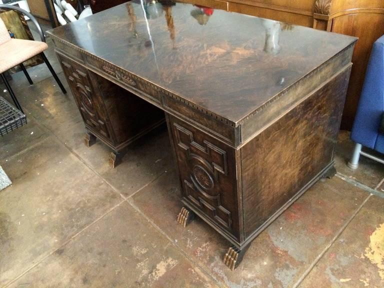Birch Axel Hjorth Desk For Sale