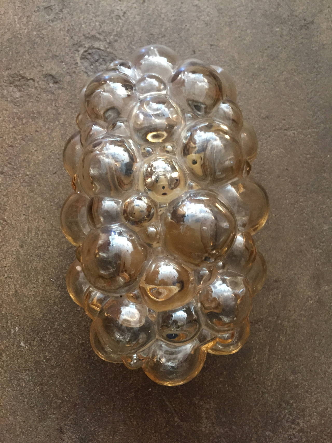 Glass Pair of Limburg Helena Tynell Bubble Wall Lights For Sale