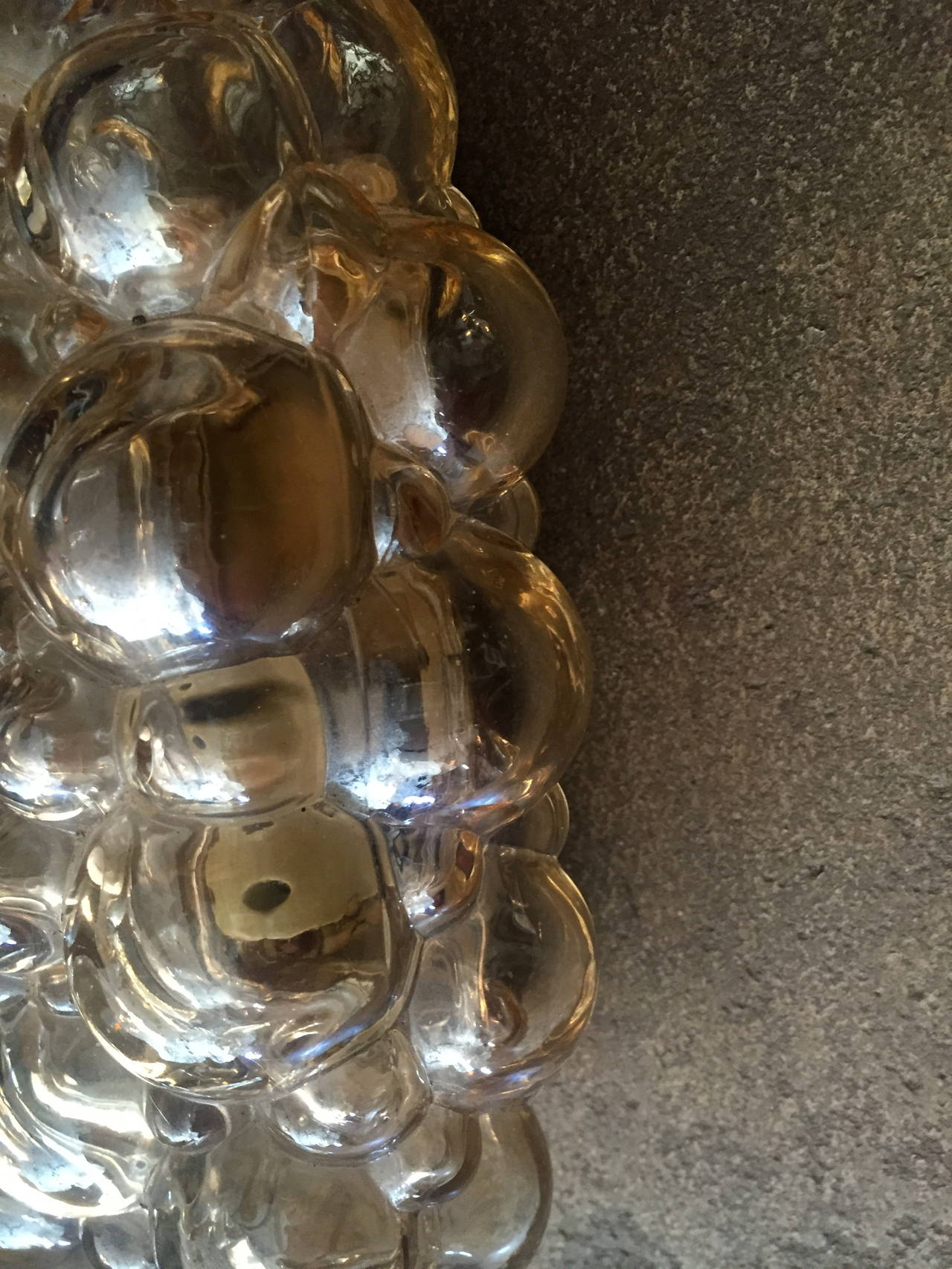 Austrian Pair of Limburg Helena Tynell Bubble Wall Lights For Sale