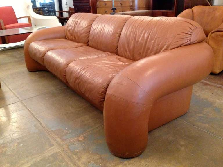 Directional 70 S Leather Sofa 2