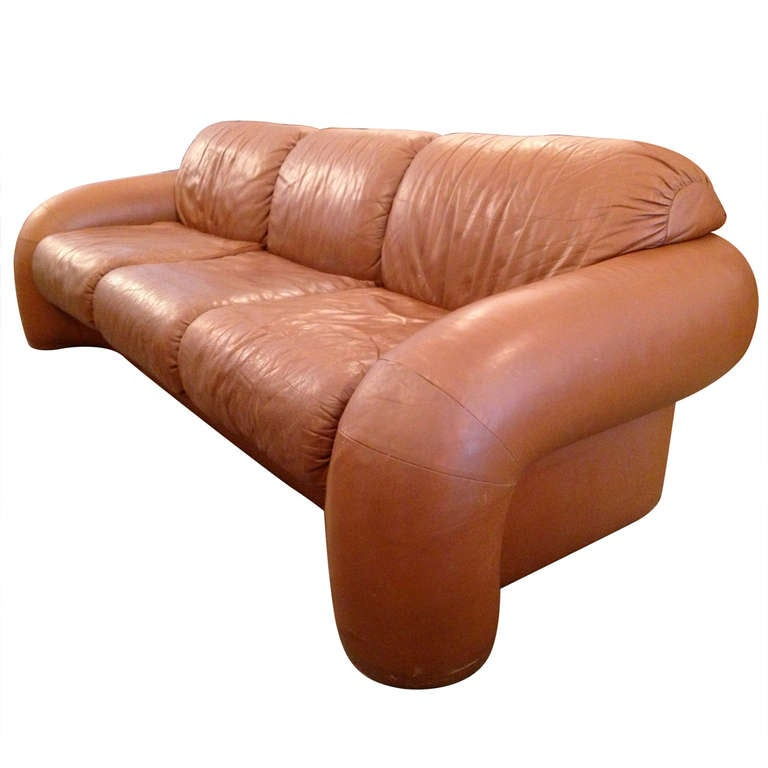 Directional 70 S Leather Sofa 1