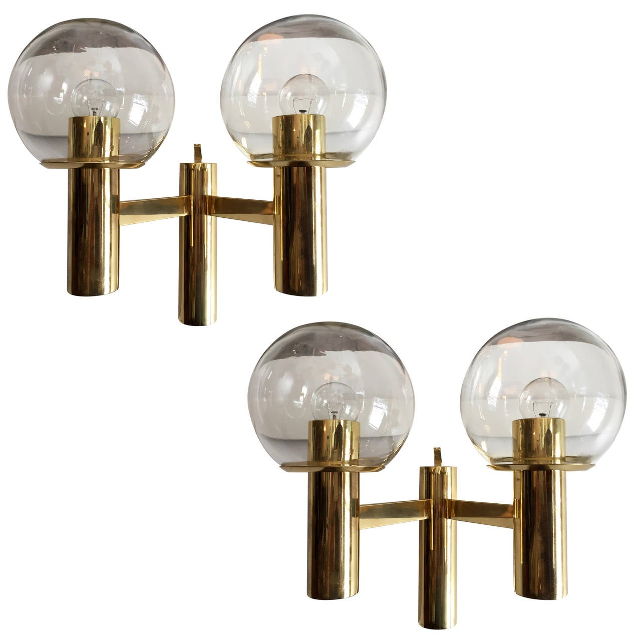 Pair of Hans Agne Jakobsson Wall Lights