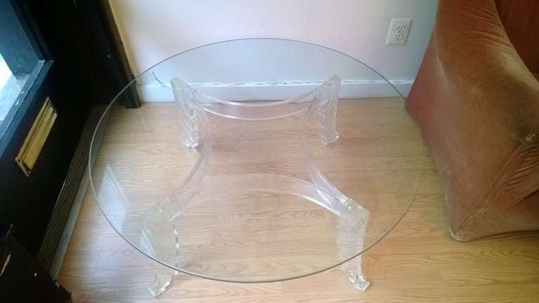 Lorin Jackson for Grosfeld House Cocktail Table For Sale 1