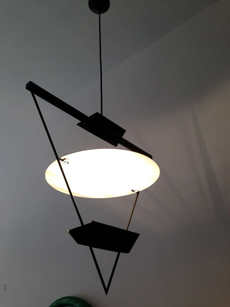 French 1980s Ceiling Light Pendant At 1stdibs