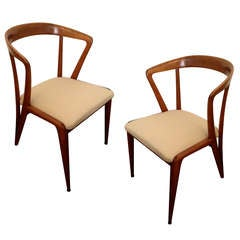 Pair of Bertha Schaefer Side Chairs