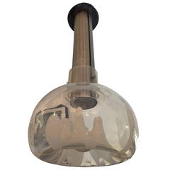Mazzega Murano Glass Ceiling Light