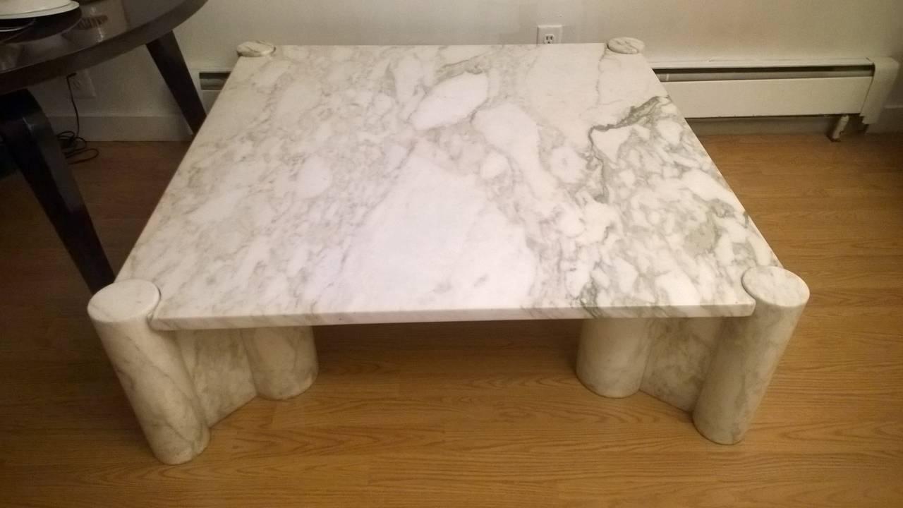 """Gae Aulenti """"Jumbo"""" Marble Table 10"""