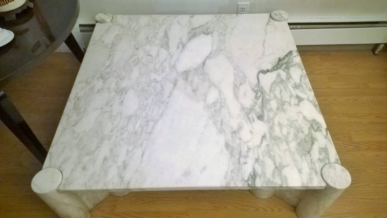 """Gae Aulenti """"Jumbo"""" Marble Table 9"""