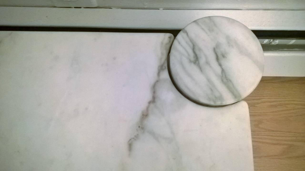 "Gae Aulenti ""Jumbo"" Marble Table 5"