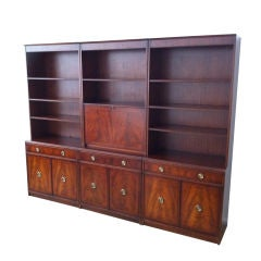 Fifties English Regency Bookcase