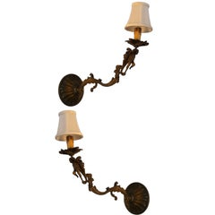 Pair of French Regency Sconces