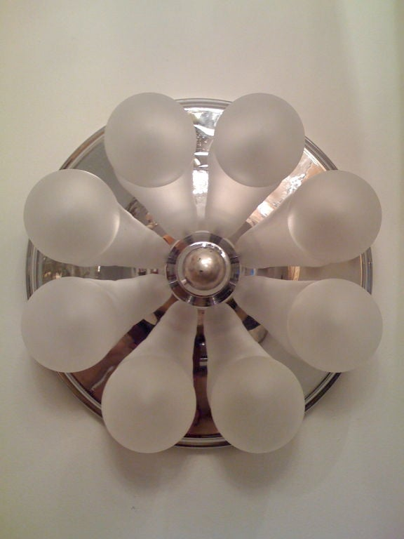 German, 1970s Wall Sconce or Ceiling Light 2