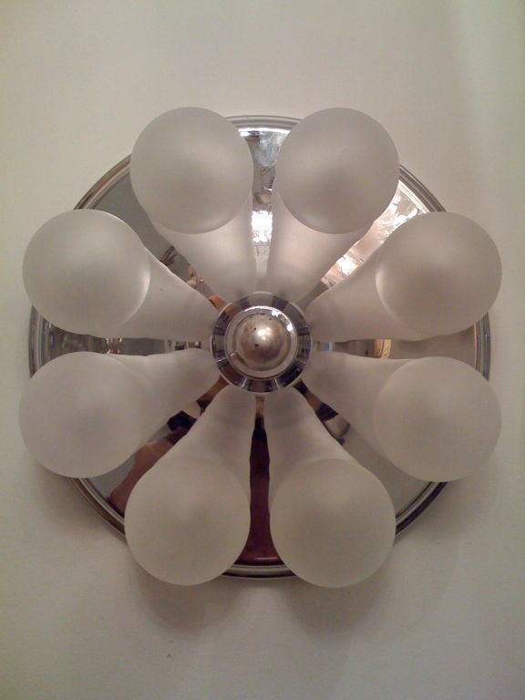 German, 1970s Wall Sconce or Ceiling Light 9