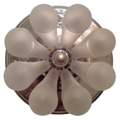 German, 1970s Wall Sconce or Ceiling Light