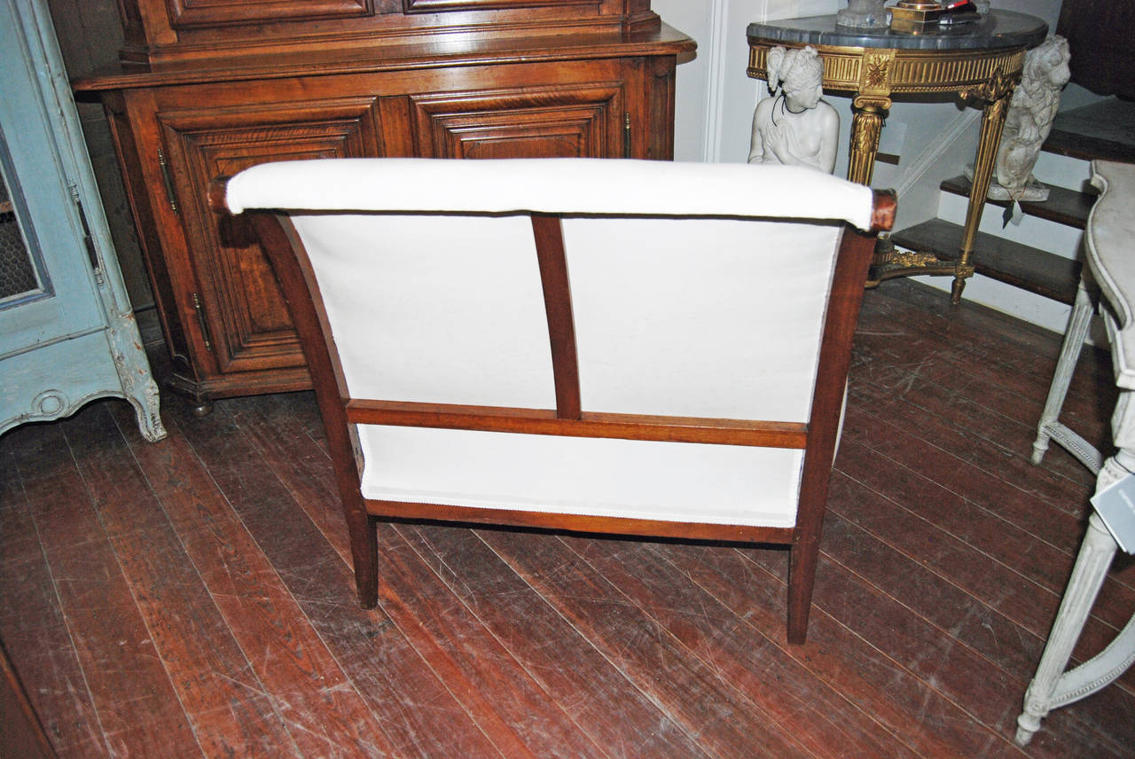 Period Consulate Walnut Marquis Chair For Sale At 1stdibs