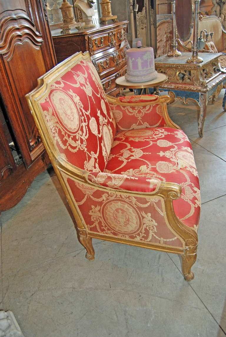 19th Century Giltwood Marquis For Sale At 1stdibs
