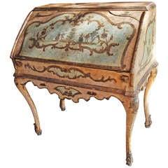 Fabulous 18th Century Painted Venetian Desk