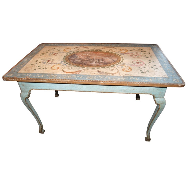 Belle Epoch Painted Table