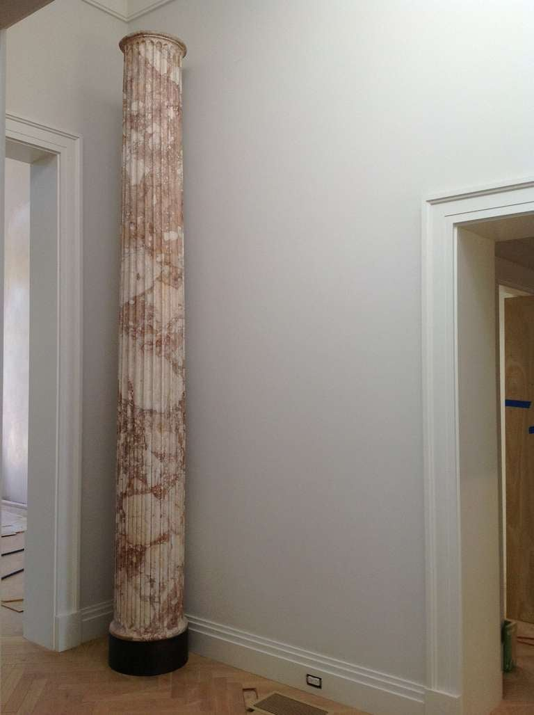 Pair of Classical Marble Columns For Sale 1