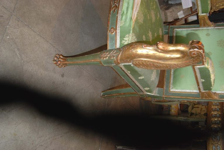 Napoleon  III Carved and Gilded Armchair 3