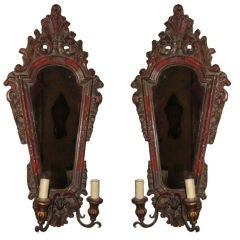 Pair 19th Century Italian Sconces