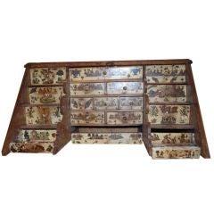 Exceptional  18th c.Arte Povera Lap Desk
