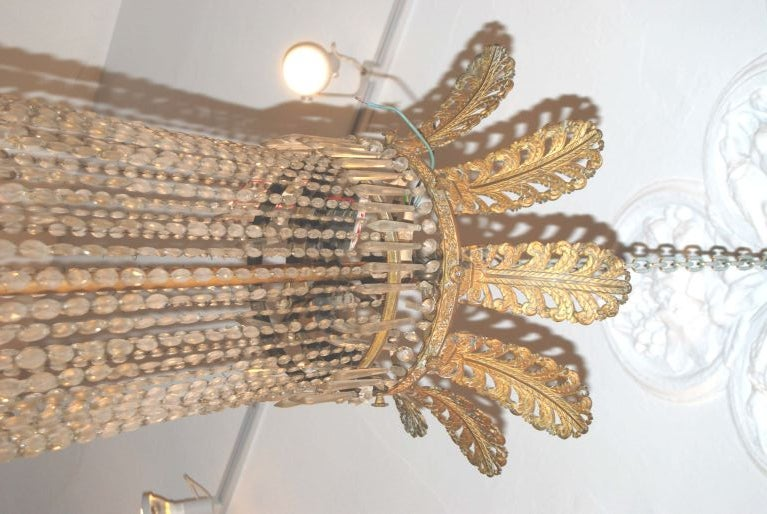French Exceptional Period Empire Chandelier For Sale
