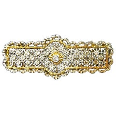 Buccellati Diamond Brooch