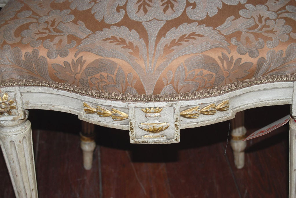 Beautiful Set of 8 19thc. Italian Chairs 5