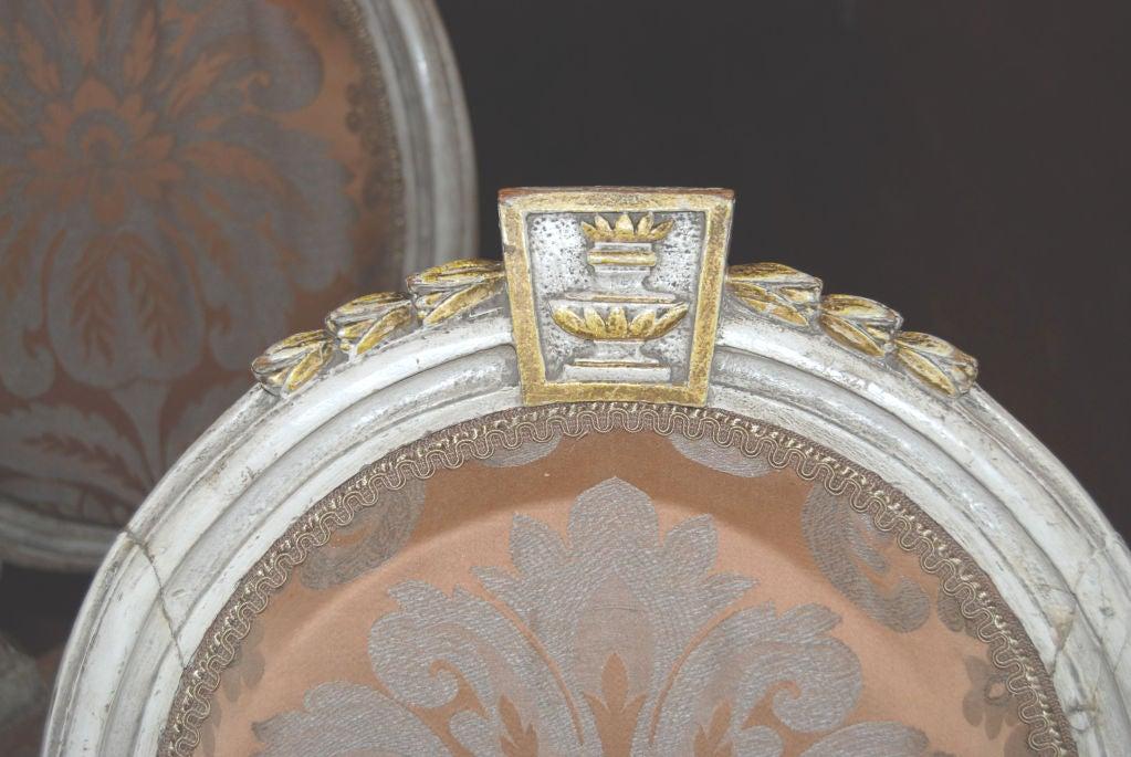 Beautiful Set of 8 19thc. Italian Chairs 6