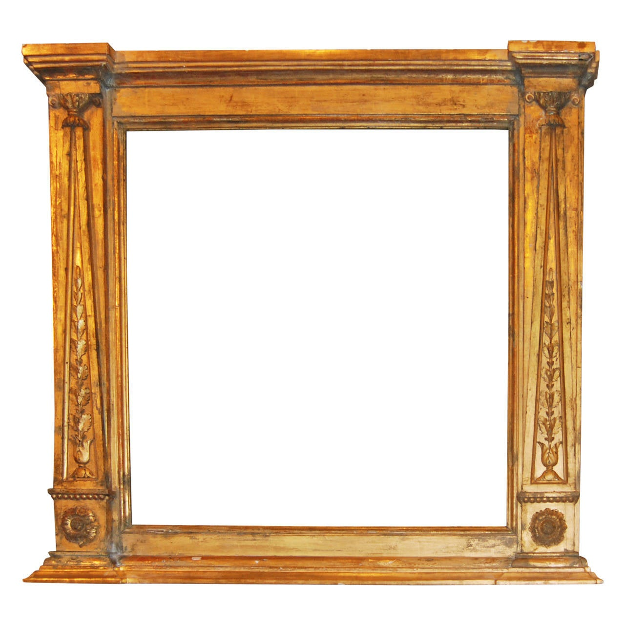 Empire Giltwood Carved Frame